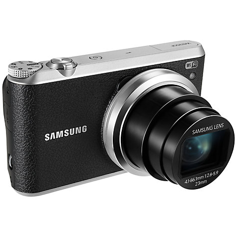 "Buy Samsung WB350F Camera, HD 1080p, 21x Optical Zoom, 16.3MP, Wi-Fi, NFC, 3"" Touch Screen Online at johnlewis.com"
