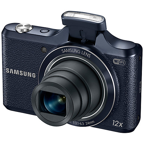 "Buy Samsung WB50F Digital Camera, HD 720p, 16MP, 12x Optical Zoom, Wi-Fi, 3"" Screen Online at johnlewis.com"