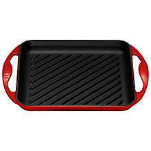 Buy Le Creuset Square Grill, 24cm Online at johnlewis.com