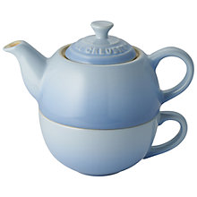 Buy Le Creuset Tea for One Set, Almond Online at johnlewis.com