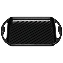 Buy Le Creuset Cast Iron Square Grill, 24cm Online at johnlewis.com