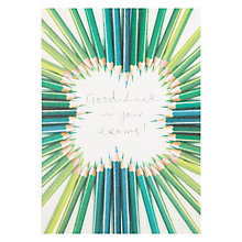 Buy Woodmansterne Pencils in Heart Shape Card Online at johnlewis.com
