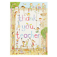 Buy Contemporary Style Children Painting Wall Card Online at johnlewis.com