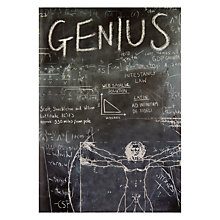 Buy Framed Genius Card Online at johnlewis.com