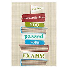 Buy Art File Congratulations You Passed Your Exams Greeting Card Online at johnlewis.com