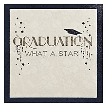 Buy Bonheur Graduation What a Star Card Online at johnlewis.com