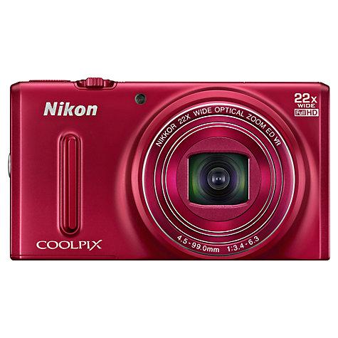 Nikon Coolpix S9600 16MP Digital Camera