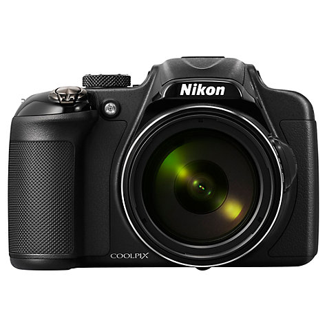 "Buy Nikon Coolpix P600 Bridge Camera, HD 1080p, 16.1MP, 60x Optical Zoom, Wi-Fi, 3"" LCD Screen Online at johnlewis.com"
