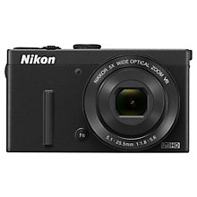 "Buy Nikon Coolpix P340 Digital Camera, HD 1080i, 12.2MP, 5x Optical Zoom, Wi-Fi, 3"" LCD Screen with Memory Card Online at johnlewis.com"