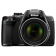 "Buy Nikon Coolpix P530 Bridge Camera, HD 1080p, 16MP, 42x Optical Zoom, EVF, 3"" LCD Screen with 16GB + 8GB Memory Card Online at johnlewis.com"