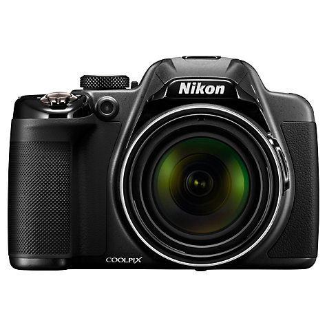 "Buy Nikon Coolpix P530 Bridge Camera, HD 1080p, 16MP, 42x Optical Zoom, EVF, 3"" LCD Screen Online at johnlewis.com"