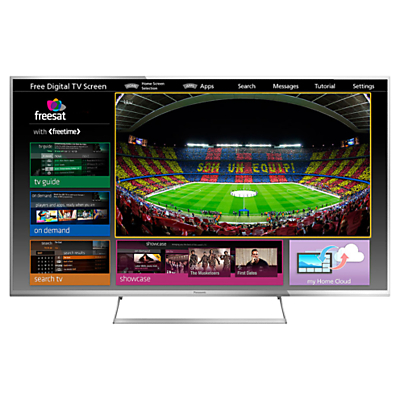 Panasonic Viera TX47AS740 LED HD 1080p 3D Smart TV 47 Freeview HD Freesat HD with freetime