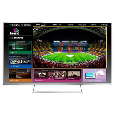 Panasonic Viera TX55AS740 LED HD 1080p 3D Smart TV 55 Freeview HD Freesat HD with freetime