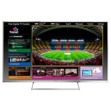 "Buy Panasonic Viera TX-55AS740 LED HD 1080p 3D Smart TV, 55"", Freeview HD with freetime Online at johnlewis.com"