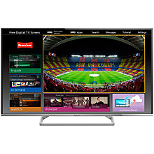 "Buy Panasonic Viera TX-50AS600B LED HD 1080p Smart TV, 50"" with Voice Control, Freeview HD & <freetime> Online at johnlewis.com"