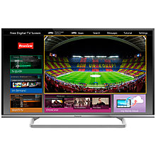 "Buy Panasonic Viera TX-39AS600 LED HD 1080p Smart TV, 39"" with Freeview HD & <freetime>, Silver Online at johnlewis.com"