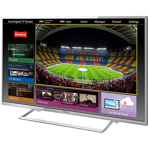 "Buy Panasonic Viera TX-42AS740 LED HD 1080p 3D Smart TV, 42"", Freeview HD, Freesat HD with freetime Online at johnlewis.com"