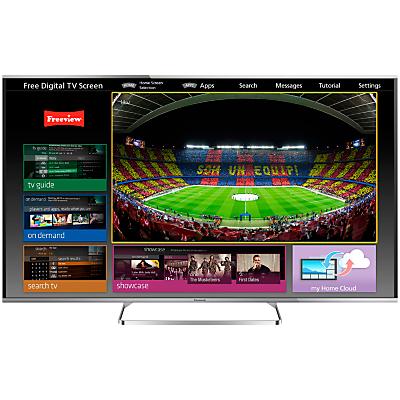 Panasonic Viera TX-60AS650B LED HD 1080p 3D Smart TV, 60