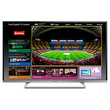 "Buy Panasonic Viera TX-42AS600 LED HD 1080p Smart TV, 42"" with Freeview HD & <freetime> , Silver Online at johnlewis.com"