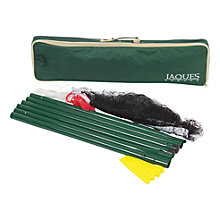 Buy Jaques Badminton / Volleyball Deluxe Garden Net and Post Set Online at johnlewis.com