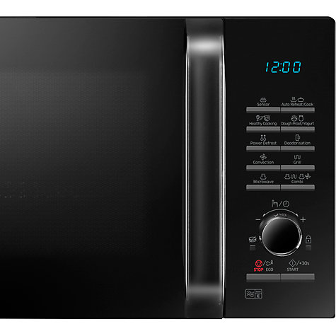 Buy Samsung MC28H5125AK Combination Microwave, Black Online at johnlewis.com