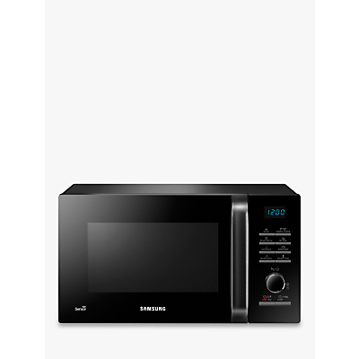Image of Samsung MS23H3125AK SOLO Microwave Oven, Black