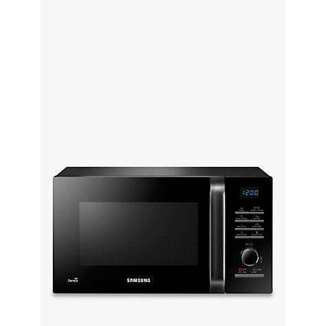 Buy Samsung MS23H3125AK SOLO Microwave Oven, Black Online at johnlewis.com