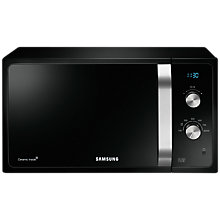 Buy Samsung MS23F301EAK SOLO Microwave Oven, Black Online at johnlewis.com
