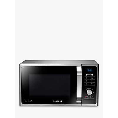 Image of Samsung MS23F301TAS SOLO Microwave Oven, Silver