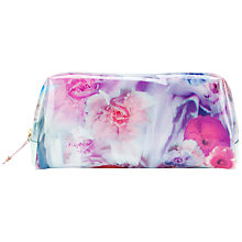 Buy Ted Baker Lewi Large Wash Bag, Pale Green Online at johnlewis.com