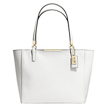 Buy Coach Madison East / West Saffiano Leather Tote Bag Online at johnlewis.com