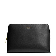 Buy Coach Large Saffiano Leather Cosmetic Case Online at johnlewis.com