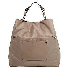 Buy Mango Hobo Bag, Medium Brown Online at johnlewis.com