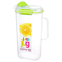 Buy Sistema Juice Storage Container, 2L Online at johnlewis.com