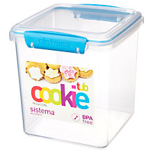Buy Sistema Cookie Tub Storage Container, Assorted Online at johnlewis.com