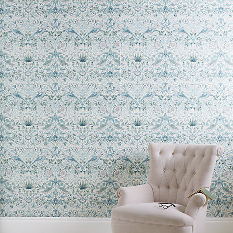 Buy John Lewis Strawberry Thief Wallpaper Online at johnlewis.com