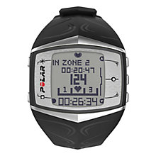 Buy Polar Women's FT60 Fitness Watch, Black Online at johnlewis.com