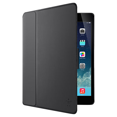 Buy Belkin Freestyle Shield Swing Cover for iPad Air, Black Online at johnlewis.com