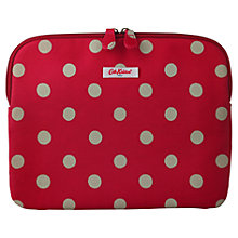 Buy Cath Kidston Button Spot Sleeve for 2nd, 3rd & 4th Generation iPad, Red Online at johnlewis.com