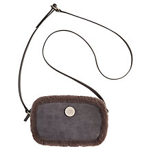Buy UGG Bailey Small Boxed Suede Across Body Bag Online at johnlewis.com