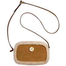 Buy UGG Bailey Medium Boxed Suede Across Body Bag Online at johnlewis.com