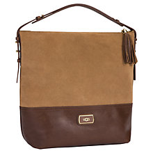 Buy UGG Millie Hobo Suede Bag Online at johnlewis.com