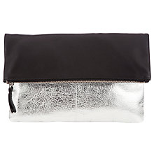 Buy Collection WEEKEND by John Lewis Mistry Leather Clutch Bag Online at johnlewis.com