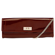 Buy John Lewis Patent Clutch Bag Online at johnlewis.com