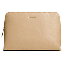 Buy Coach Saffiano Leather Large Cosmetic Case Online at johnlewis.com