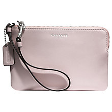 Buy Coach Bleecker Small Leather Wristlet Purse Online at johnlewis.com