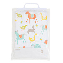 Buy John Lewis Baby Highchair Splash Mat, Farmyard Online at johnlewis.com