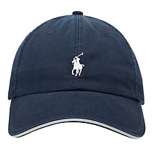 Buy Polo Golf by Ralph Lauren Fairway Baseball Cap, Aviator Navy Online at johnlewis.com