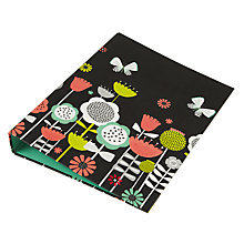 Buy John Lewis Copenhagen Floral Ring Binder Online at johnlewis.com