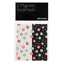 Buy John Lewis Copenhagen Floral Bookmark, Pack of 2 Online at johnlewis.com